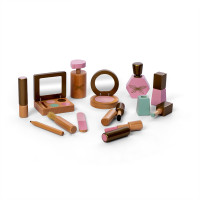 byASTRUP - Makeup-Set aus Holz 13-teilig