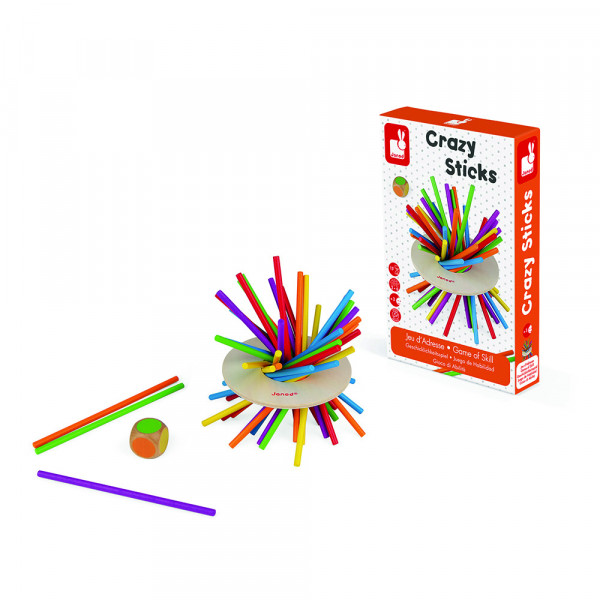 """Janod - Geschicklichkeitspiel """"Crazy Sticks"""""""