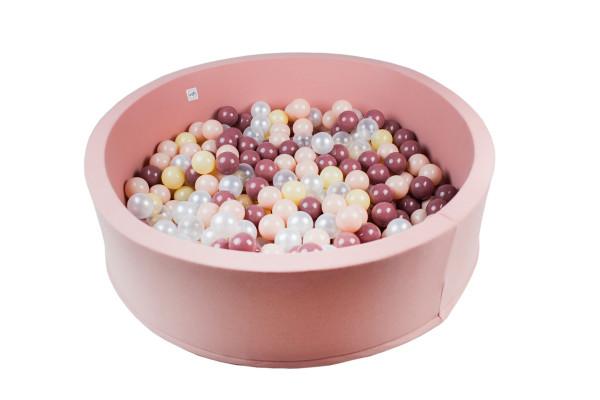MiniBe - Bällebad rosa in verschiedenen Ausführungen
