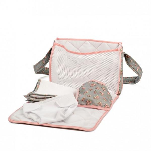 Mini Mommy - Wickeltaschen-Set für Puppen deluxe grey