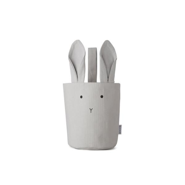 Liewood - Stoffkorb Rabbit dumbo grey