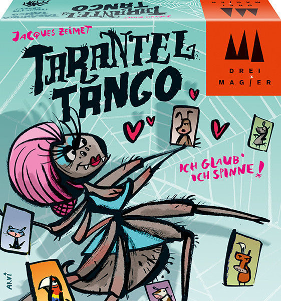 Schmidt Spiele - Drei Magier Spiele®: Tarantel Tango