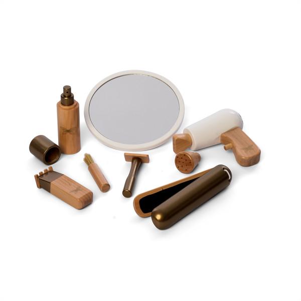 byASTRUP - Friseurset aus Holz 9-teilig