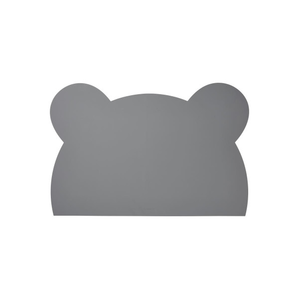 Liewood - Malunterlage Mr. Bear stone grey