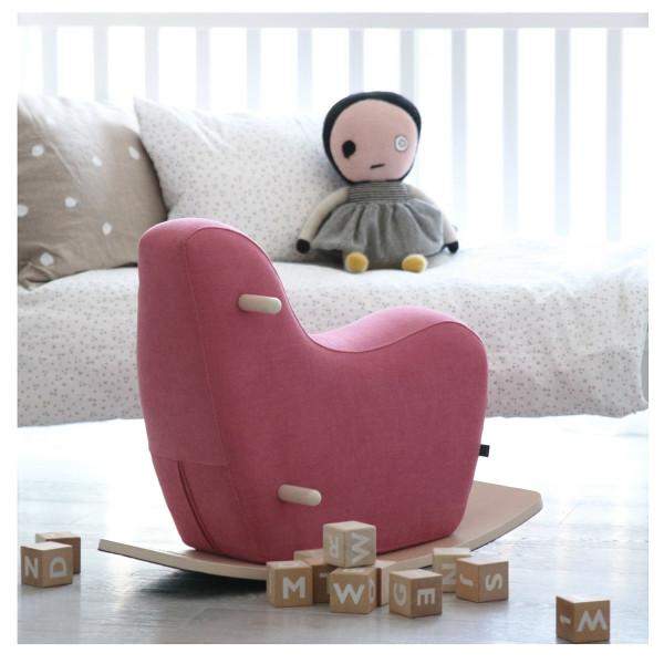 ooh noo - Googy Schaukelpferd pink