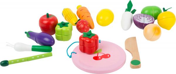 small foot company - Schneide-Frucht und Gemüseset magnetisch