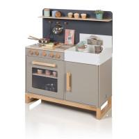 Musterkind - Spielküche LINUM warmgrau/natur