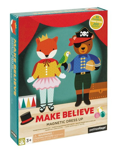 "Petit Collage - großes Magnetspiel ""Make Believe"""