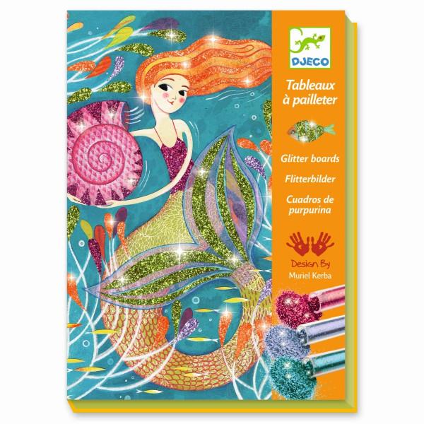 Djeco - Sandbild Meerjungfrau
