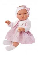 Asi Coleccion - Puppe Maria rosa Blumenkleid 43 cm