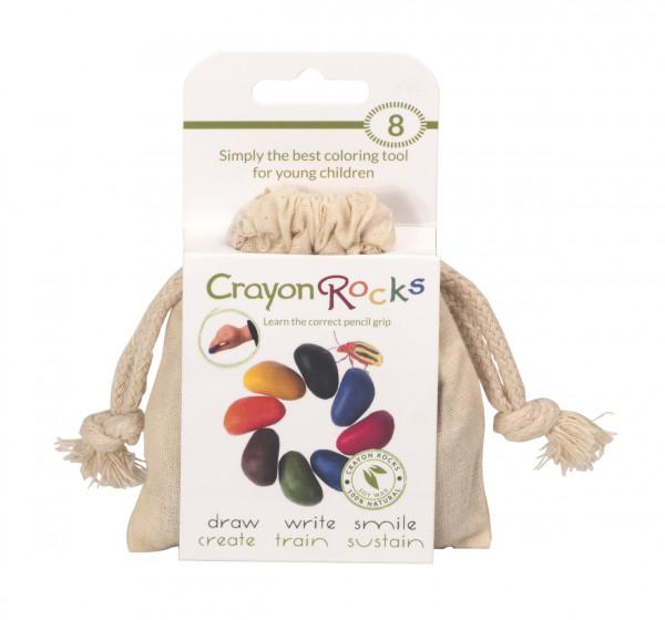Crayon Rocks - Wachsmalsteine 8er Set