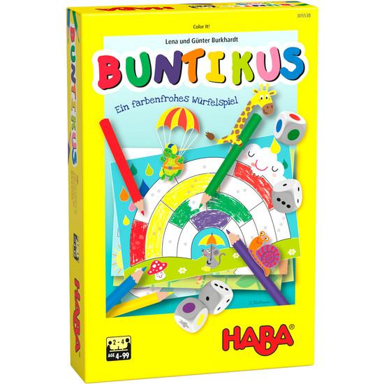 """HABA - Kinderspiel Würfelspiel """"Buntikus"""""""