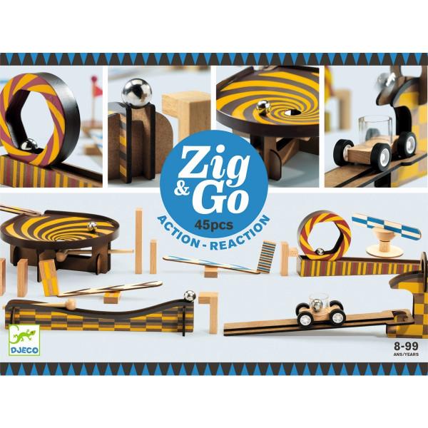 Djeco - Zig&Go 45 Teile