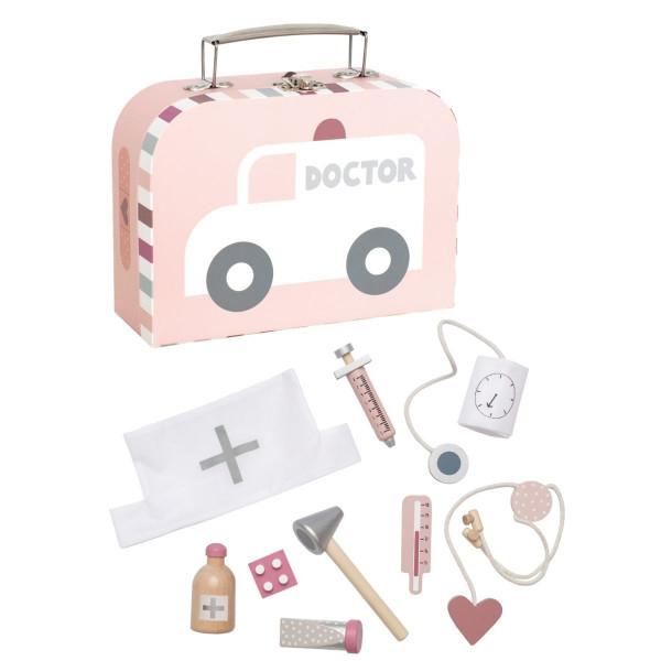 """JaBaDaBaDo - Doktor Spiel-Set im Koffer """"pink"""""""