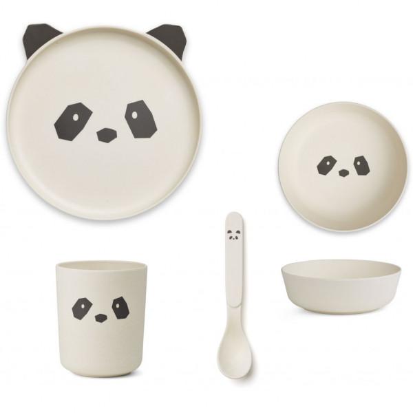 Liewood - Geschirrset Bambus Panda
