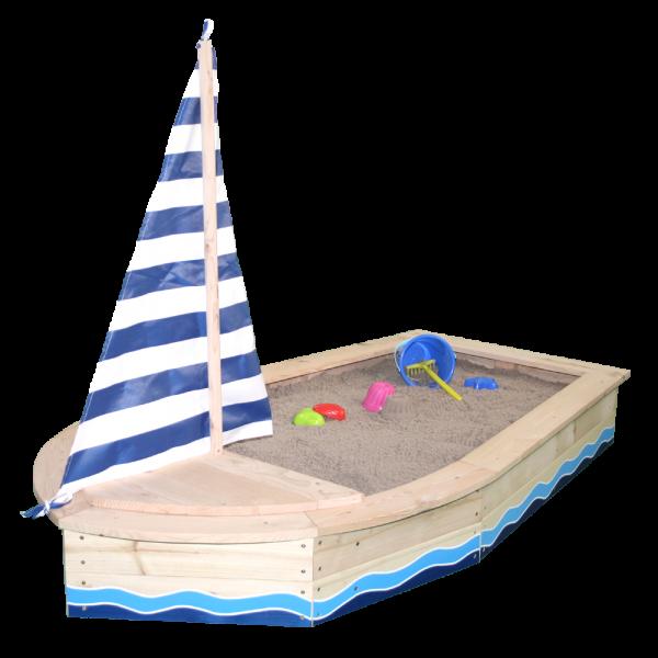 SUN - Sandkasten Boot blau
