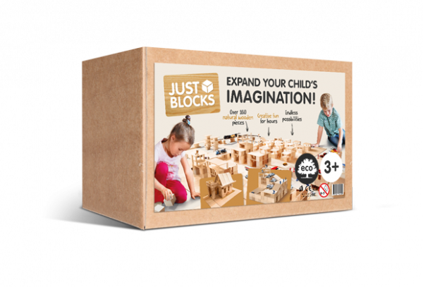 JUST BLOCKS - Holzklötze Box Medium