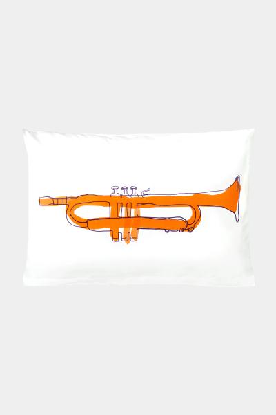 "KATHA covers - Kissenbezug ""Tiny Trumpet "" versch. Größen"