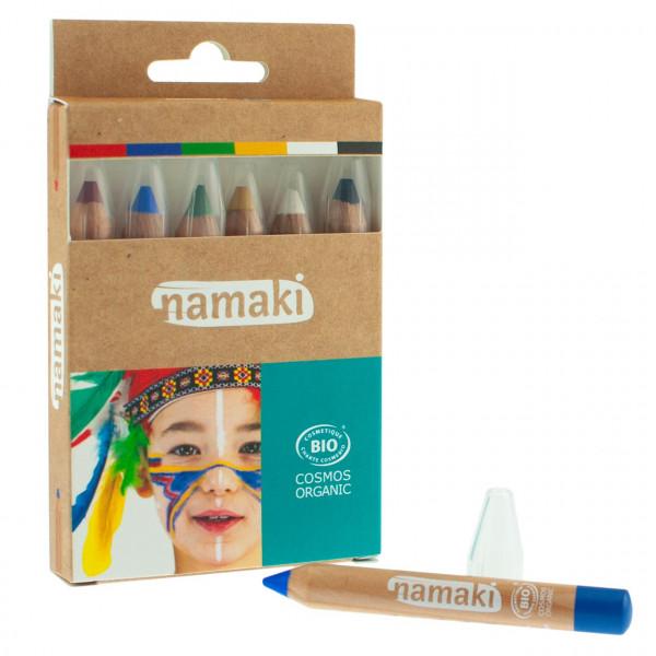 namaki - Bio Schminkstifte Regenbogen