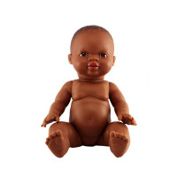 Paola Reina - Baby Doll African – Girl 34 cm