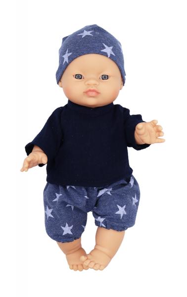 Lalou - Puppenkleidung Jungen Set 3 Shorts/Hemd