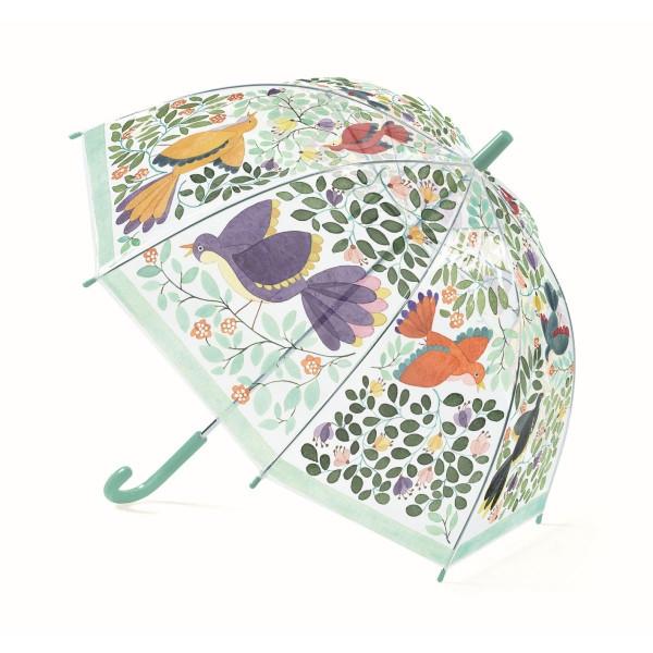 Djeco - Regenschirm Kinder Blumen & Vögel