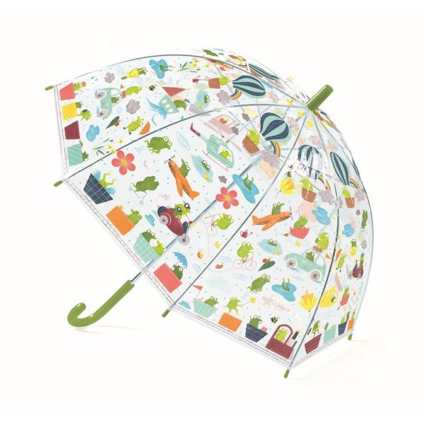 Djeco - Regenschirm Kinder Fröschlein