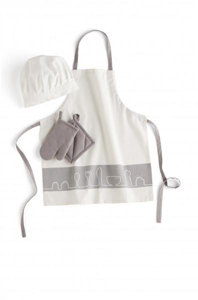 Kids Concept - Bistro-Set Kochschürze, Topflappen, Handschuh