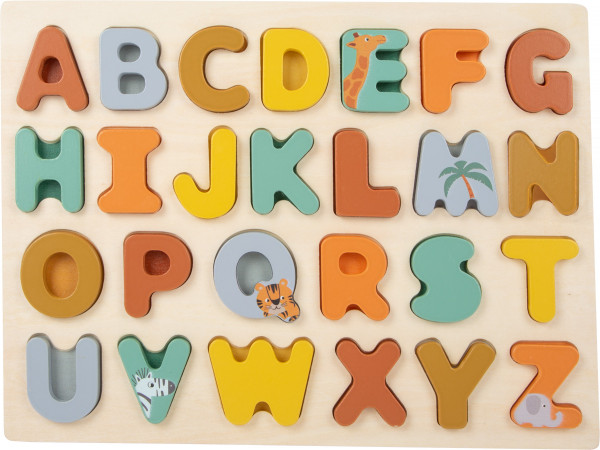 "small foot company - Buchstabenpuzzle ""Safari"""