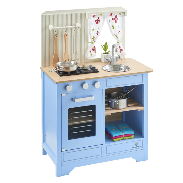 Musterkind - Spielküche Lavandula - Creme/Blau