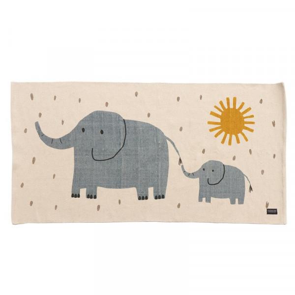Roommate - Elephant Woven Floormat