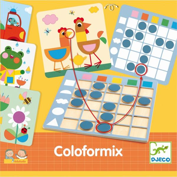Djeco - Lernspiel: Coloformix