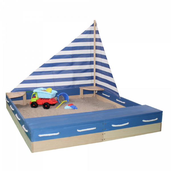 SUN - Sandkasten Matrose blau