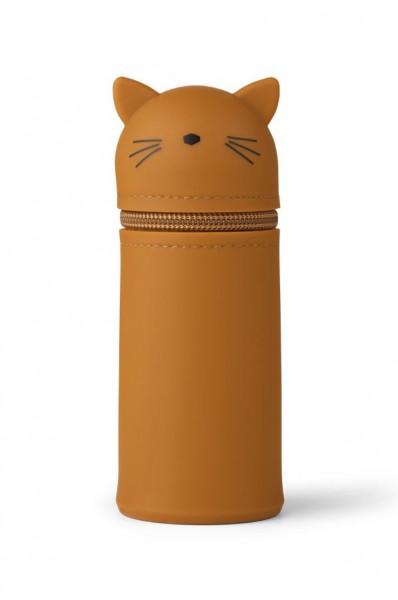 Liewood - Mäppchen Vitus cat mustard
