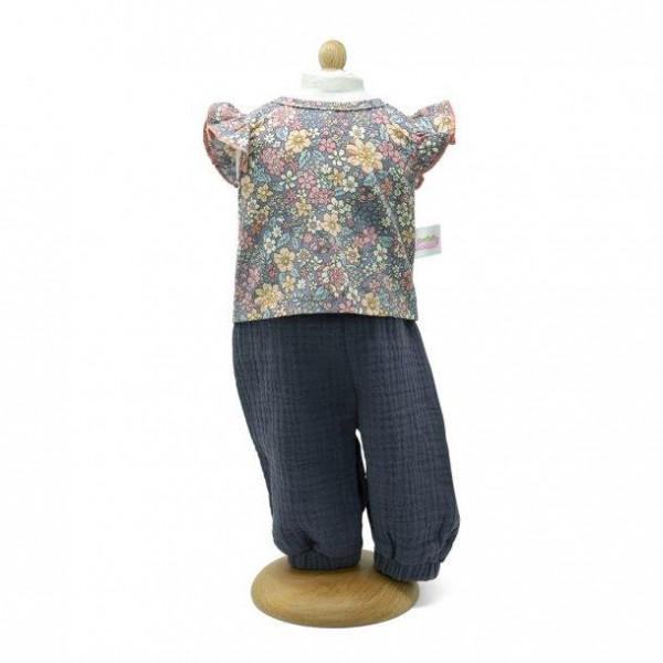 Mini Mommy - Puppenkleider-Set grau, 45 cm