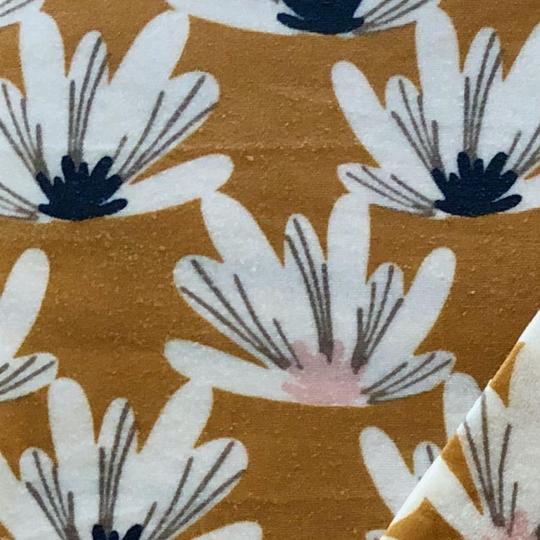 Speisekleid - Bienenwachstuch Seerosen