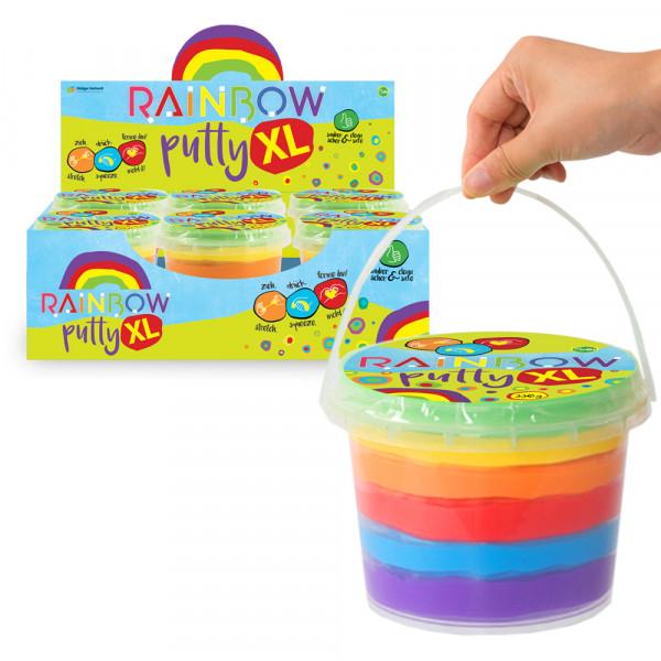 Rainbow Putty XL - Knete in Regenbogenfarben