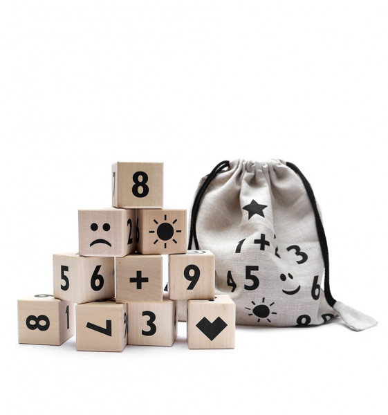 ooh noo - Math blocks - black