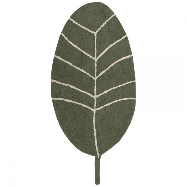 """Tapis Petit - Teppich """"Blatt grün"""""""
