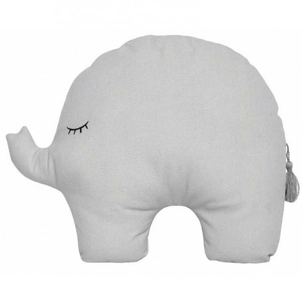 "JaBaDaBaDo - Kissen Elefant ""Grau"""