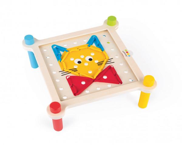Janod - Fädelspiel mit Webtisch