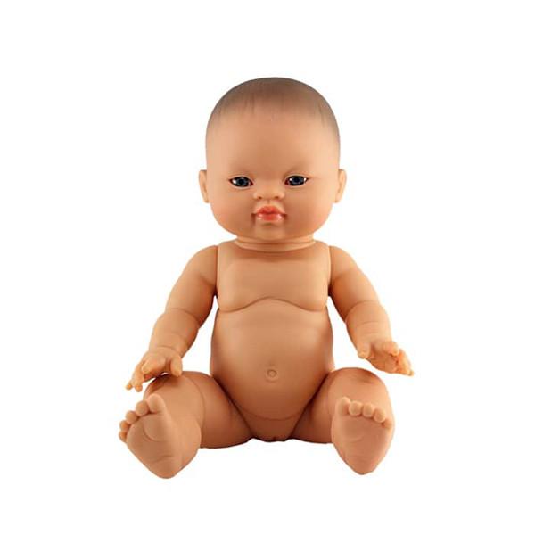 Paola Reina - Baby Doll Asian – Girl 34 cm