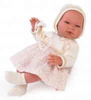 Asi Coleccion - Puppe Maria Blumenkleid 43 cm