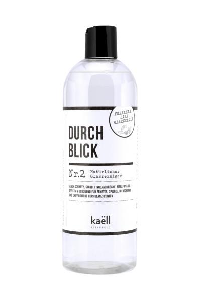 """kaëll - """"DURCHBLICK"""" 750ml - natürlicher Glasreiniger"""