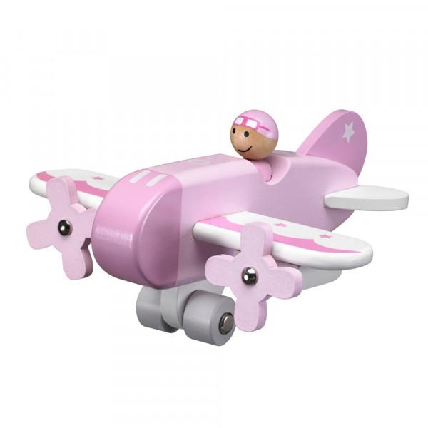 Kids Concept - Flugzeug rosa