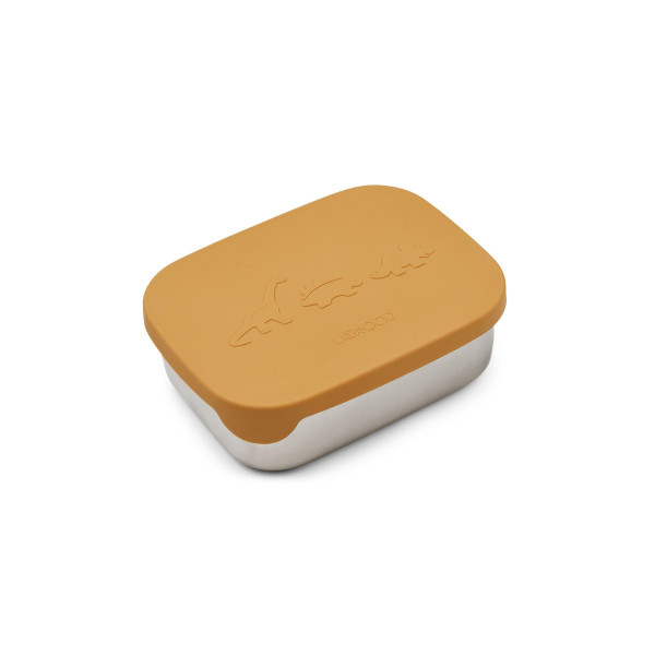 Liewood - Lunchbox Arthur Dino yellow mellow