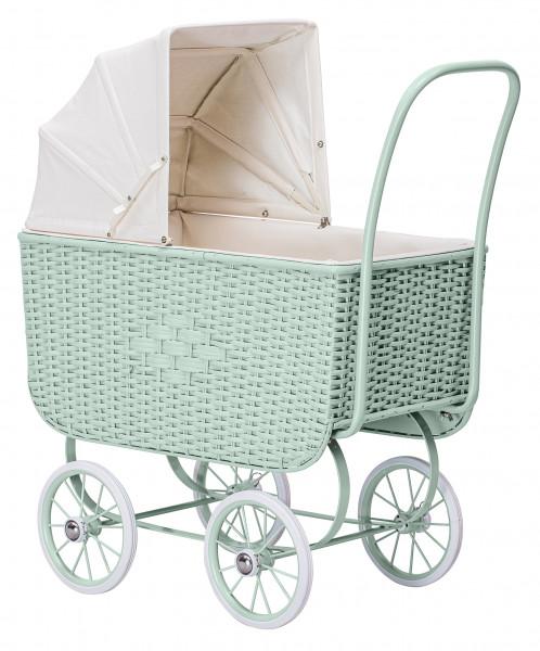byASTRUP - Puppenwagen Vintage green
