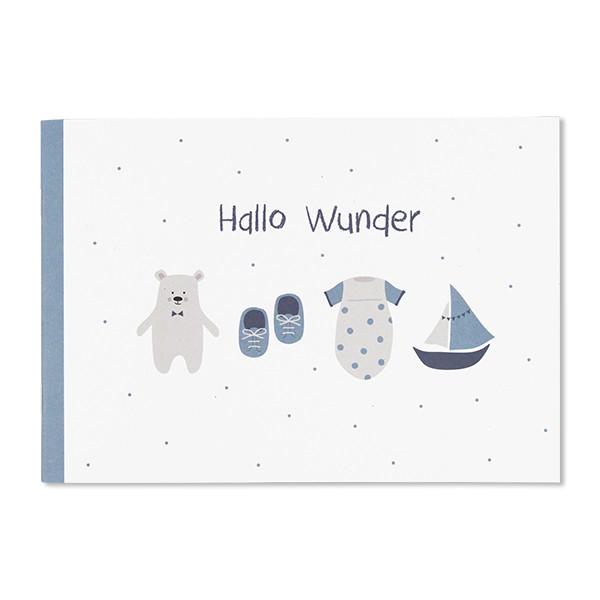 """ava&yves - Album """"Hallo Wunder"""" puderblau"""