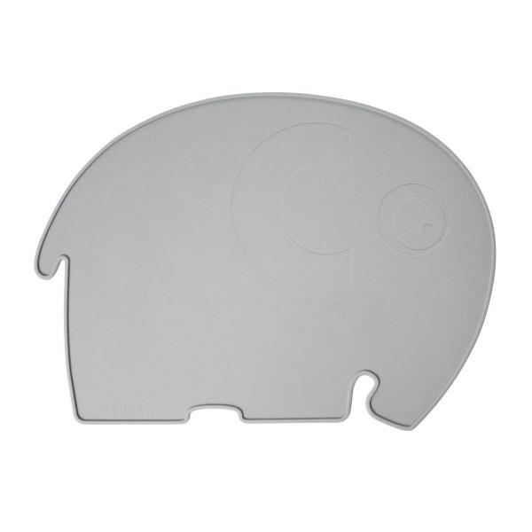Sebra - Tischset für Kinder, Elefant, grau