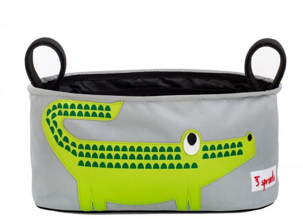 3 Sprouts - Kinderwagentasche Krokodil